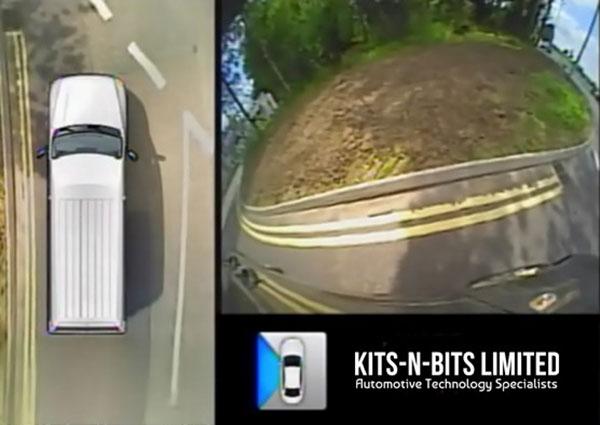 دوربین 360 درجه خودرو - فضای جانبی